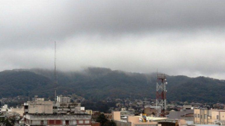 Nublado, frío y con probabilidad de lloviznas para el fin de semana