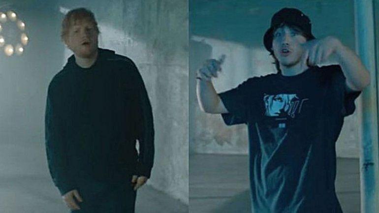 Paulo Londra la rompe en Youtube con el video del tema que hizo con Ed Sheeran y Dave