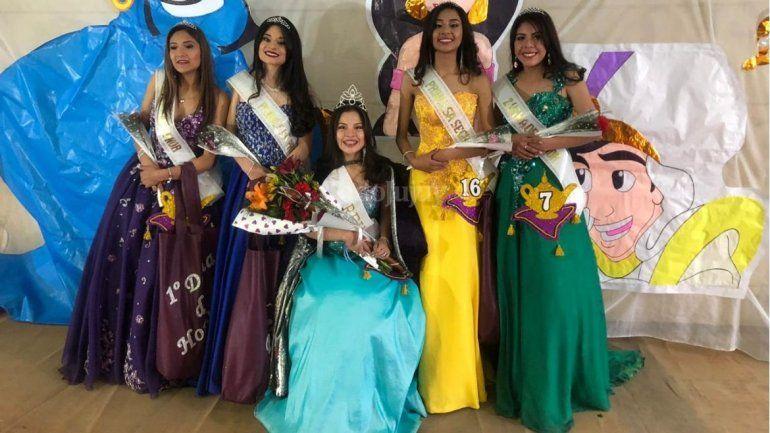 Agustina Colque es la nueva reina del Nacional 1 de Palpalá