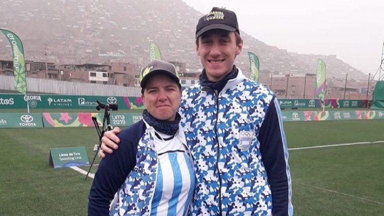 Arquería de oro: histórica medalla para Argentina en los Panamericanos