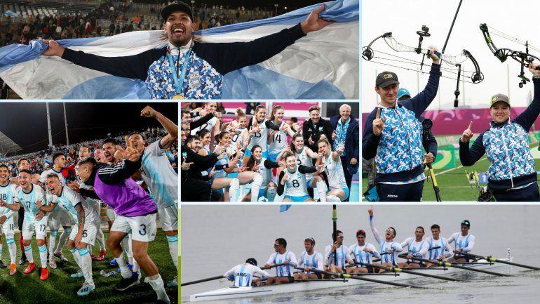 Argentina logró su mejor actuación en Juegos Panamericanos fuera del país