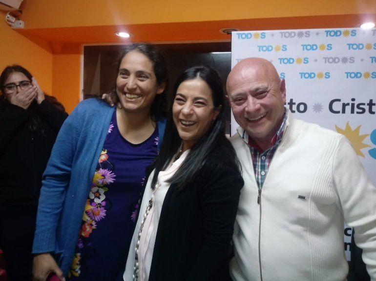Carolina Moisés: Estamos ganando en casi toda la provincia