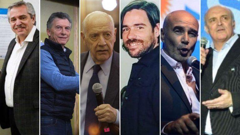 Pensando en octubre: arrancó la campaña electoral en donde 6 candidatos compiten por la presidencia