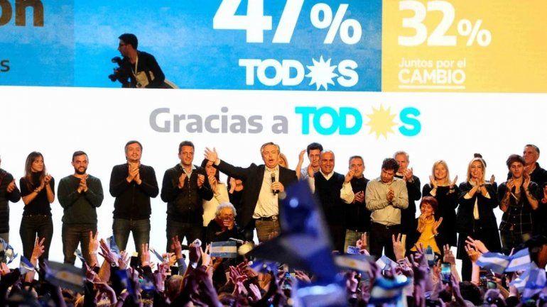 Alberto Fernández: La Argentina votó el cambio, y el cambio éramos nosotros