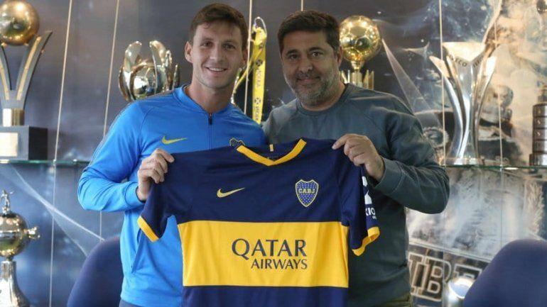 Boca presentó a Soldano: Mi sueño era poder venir al club del que soy hincha