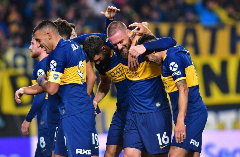 Boca 1-Almagro 0: con un gol de De Rossi, el equipo Xeneize se impone