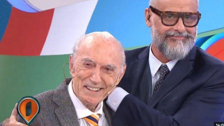 Cacho Fontana fue internado de urgencia