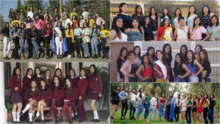 Seis colegios eligen hoy a sus reinas para la FNE