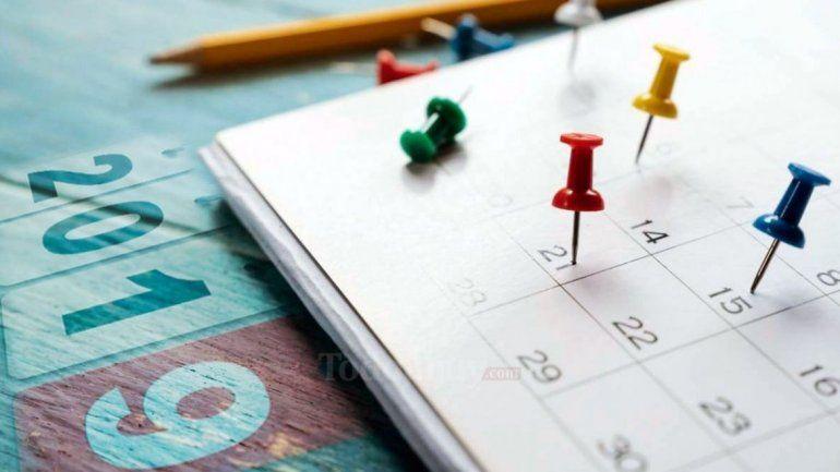 ¿Sabés cuánto falta para el próximo feriado?