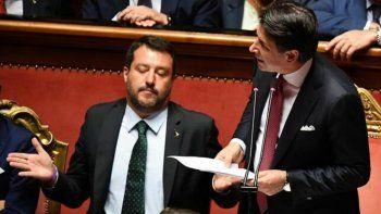 Renunció el primer ministro de Italia, Giuseppe Conte, y se quebró el gobierno