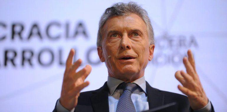 Macri en el seminario Clarín