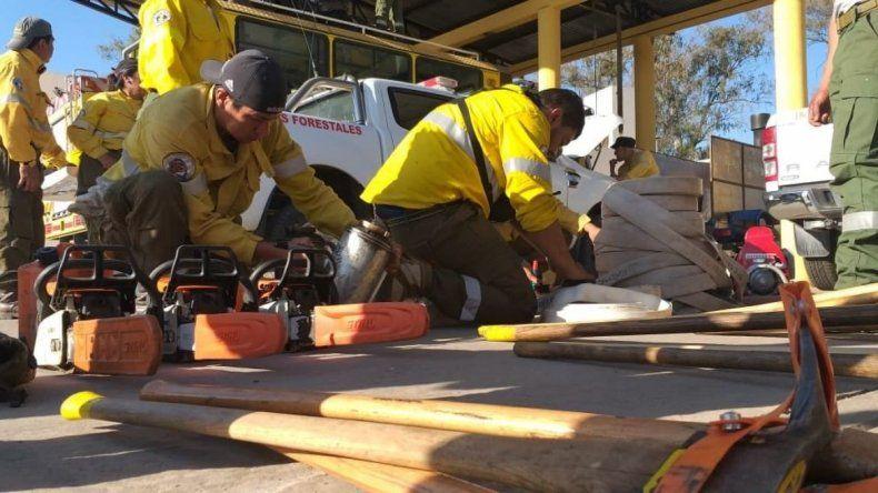 Jujuy envía ayuda a Santa Cruz de la Sierra para mitigar los incendios forestales