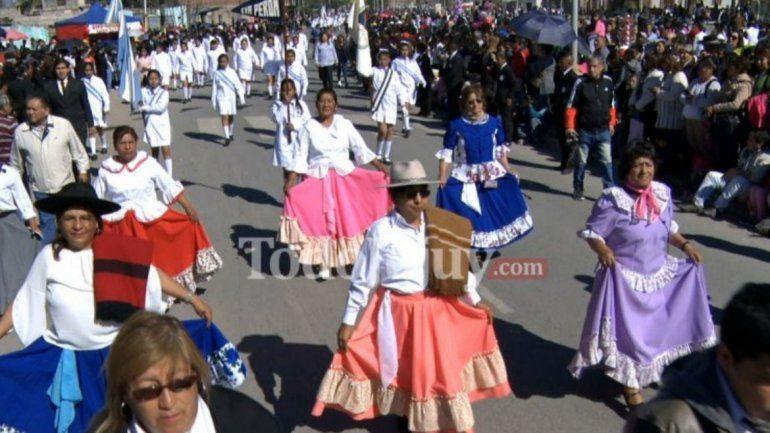 Éxodo Jujeño: hoy se hará el tradicional desfile en la avenida Forestal
