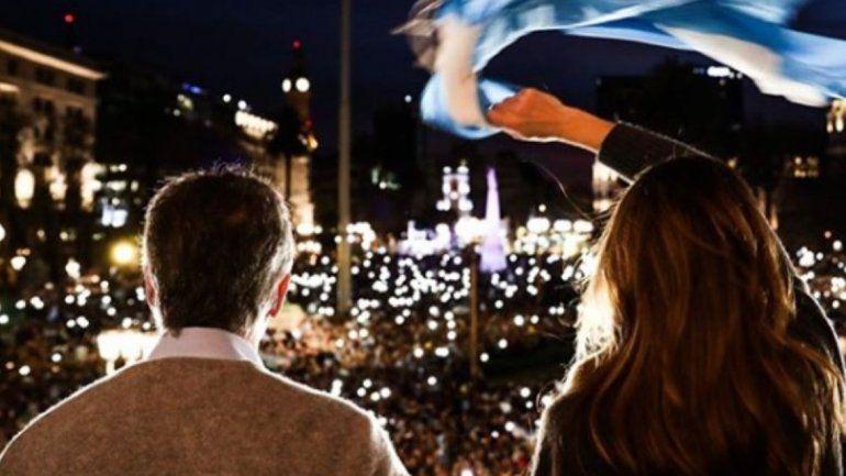 Macri: Gracias por tanto apoyo. Quiero decirles que los escuché