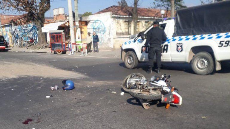 Un motociclista de 28 años murió en un accidente sobre la ruta 9