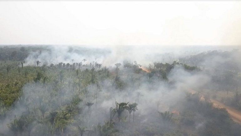 Llega el humo del Amazonas, las posibles consecuencias para la salud