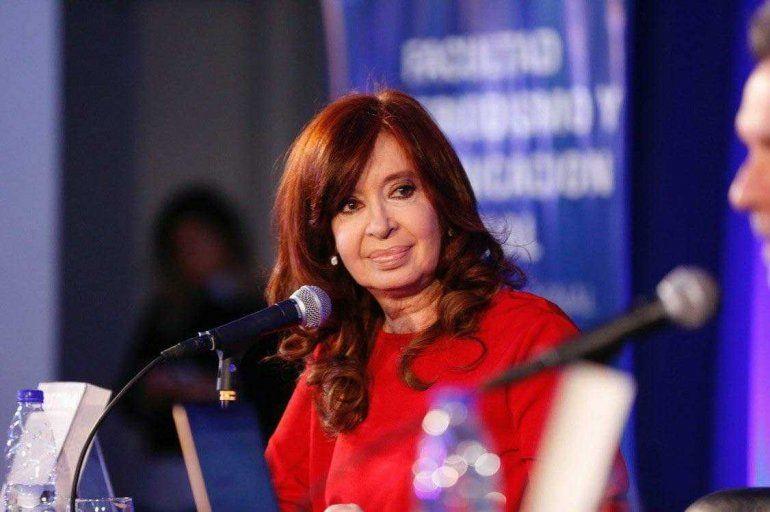 Cristina en la Plata