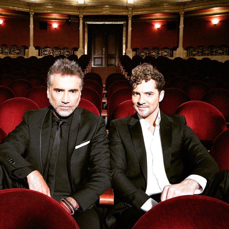Dos grossos de la música juntos: Bisbal y Fernández hicieron un tema