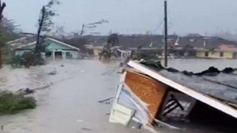 Seguí en vivo por satélite al huracán Dorian que avanza hacia EEUU