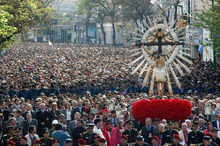 Esperan casi 1 millón de personas para la festividad del Milagro en Salta