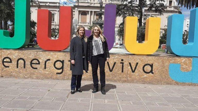 Cynthia Hotton en Jujuy: Tenemos que votar por convicción y no por miedo