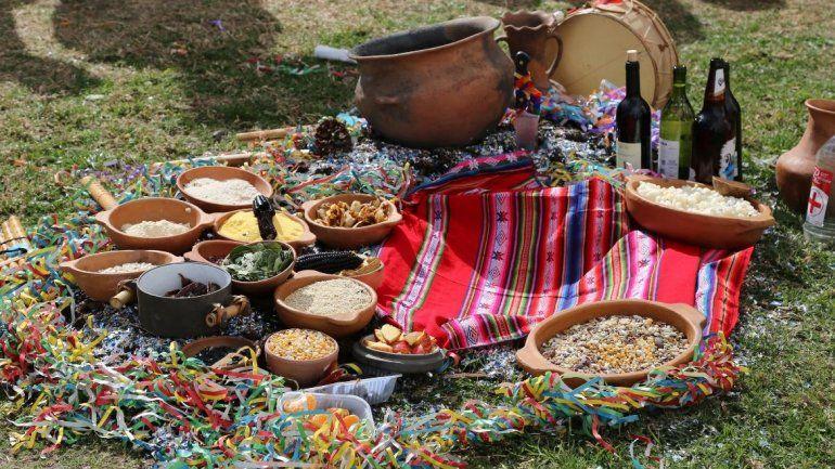 Un poquito de Jujuy en Buenos Aires: ofrendaron a la Pachamama en Tecnópolis