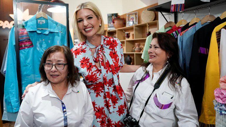 Ivanka Trump se reunió con mujeres emprendedoras y revolucionó el centro jujeño