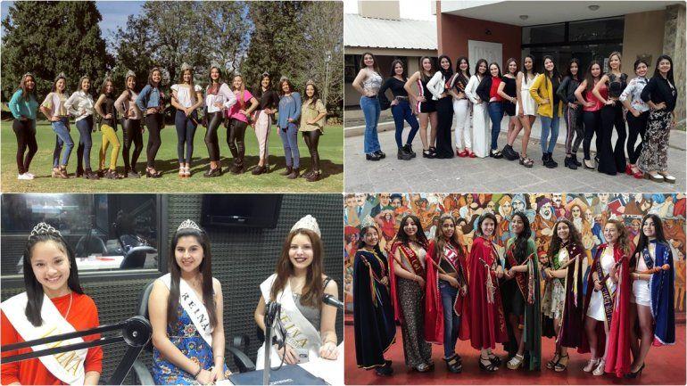 Ledesma, San Antonio, Palpalá, Tilcara y Santa Bárbara eligen sus reinas departamentales