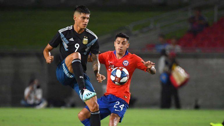 Argentina 0 – Chile 0 en un amistoso internacional