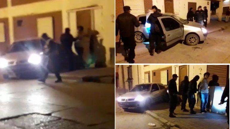 San Pedro: intentaron escapar de un control policial y chocaron