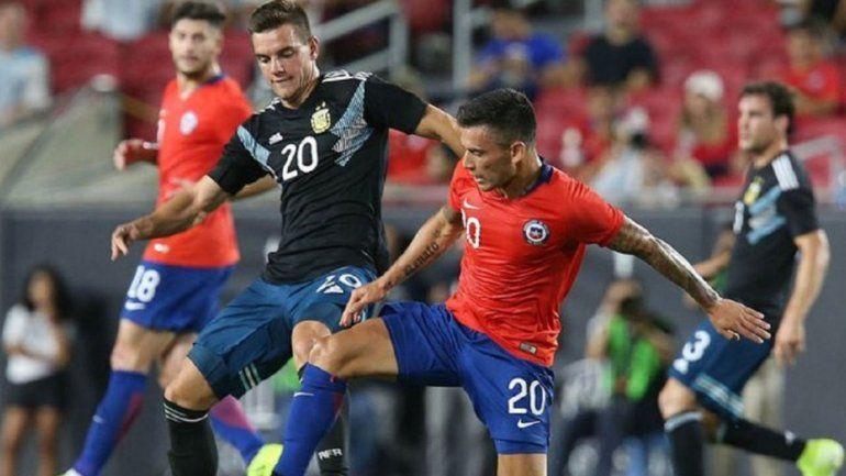 Lo Celso no juega el amistoso de mañana frente a México