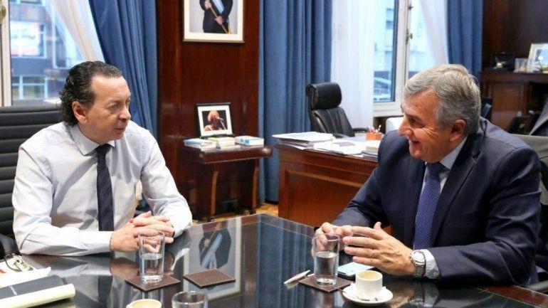 Avances en la zona franca: Morales se reunió con el ministro de Producción, Dante Sica
