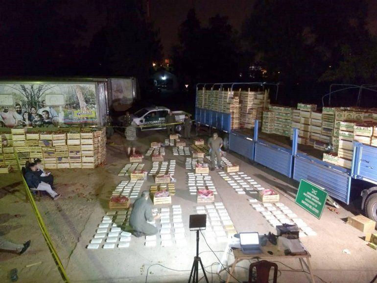 Gendarmería desbarató una banda que traficaba drogas y operaba en Jujuy y Salta