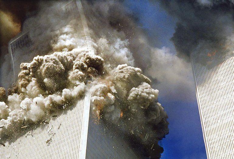 Impactante: las imágenes clasificadas e inéditas del 11-S