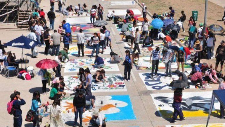 Más de 90 instituciones participarán de la tradicional Pintada Estudiantil