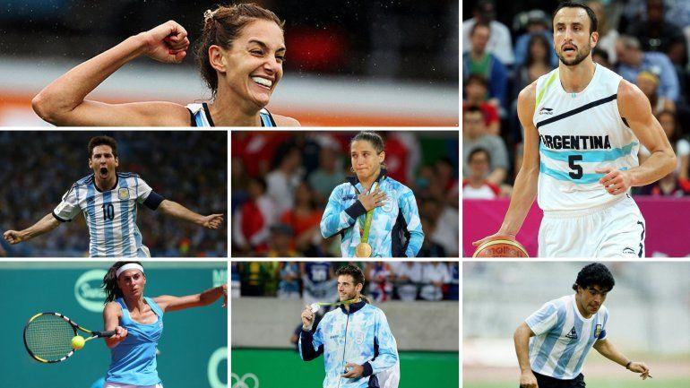 Según una encuesta, Ginóbili y Aymar son los deportistas que mejor representan al país