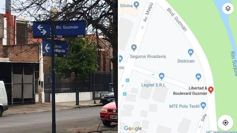 A una calle en Córdoba le cambiaron el nombre y le pusieron Libertad a Milagro Sala