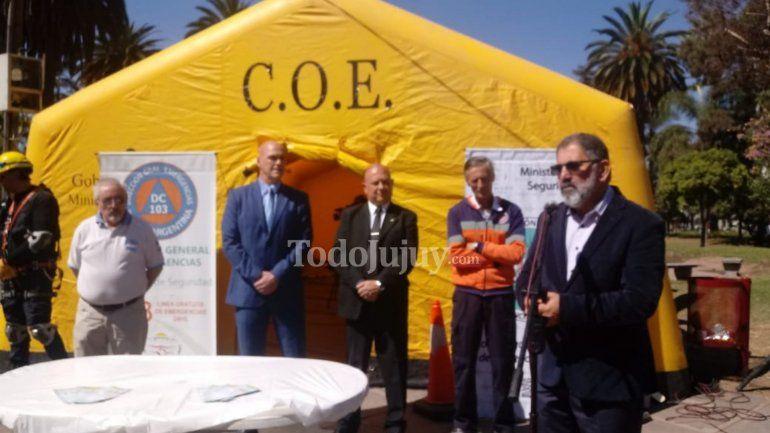 Provincia y Municipio: aplicarán un plan de prevención y concientización sísmica