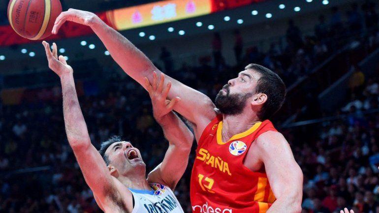 Argentina no pudo con una España inspirada. Cayó 75 a 95