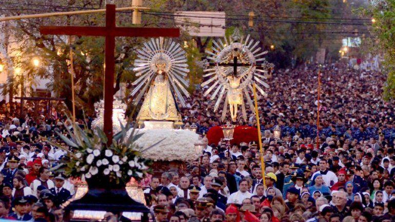 Procesión del Señor y Virgen del Milagro en vivo desde Salta
