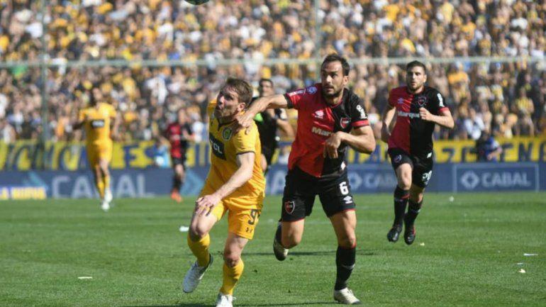 En el Gigante de Arroyito Rosario Central y Newells terminaron 1 a 1