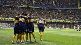 Boca derrotó a Estudiantes por 1 a 0 y quedó como único líder del campeonato