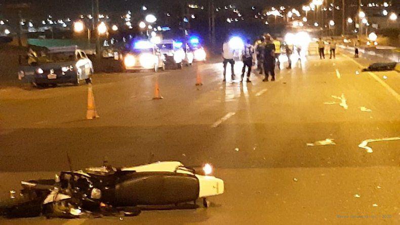 Accidente fatal en la ruta 9: un motociclista chocó y murió