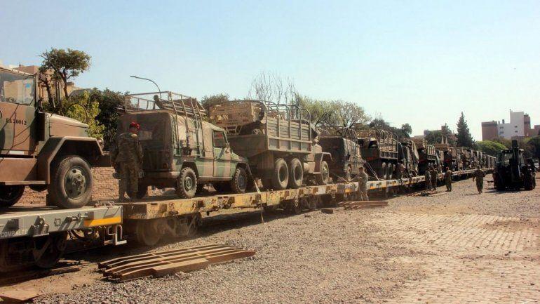 Belgrano Cargas: hoy llega el armamento destinado a ejercicios de adiestramiento del Ejército Argentino