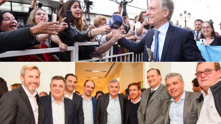 Macri lanza su desafío #SiSePuede y Peña se reunió con los jefes de campaña de las provincias pensando en octubre
