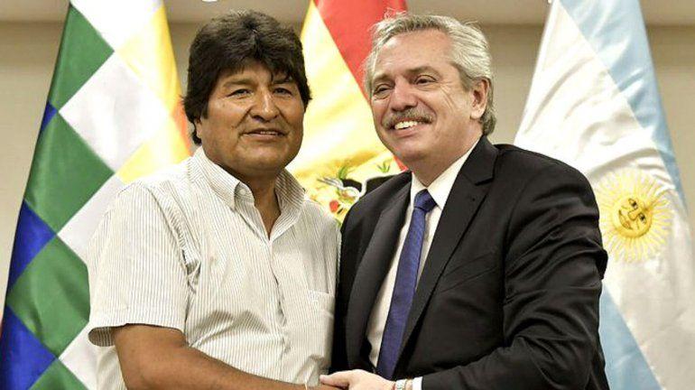 Fernández con Morales