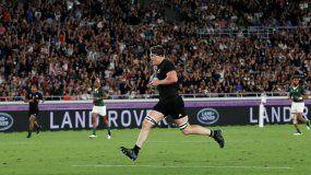 All Blacks le ganó a Sudáfrica en el inicio del Mundial de rugby