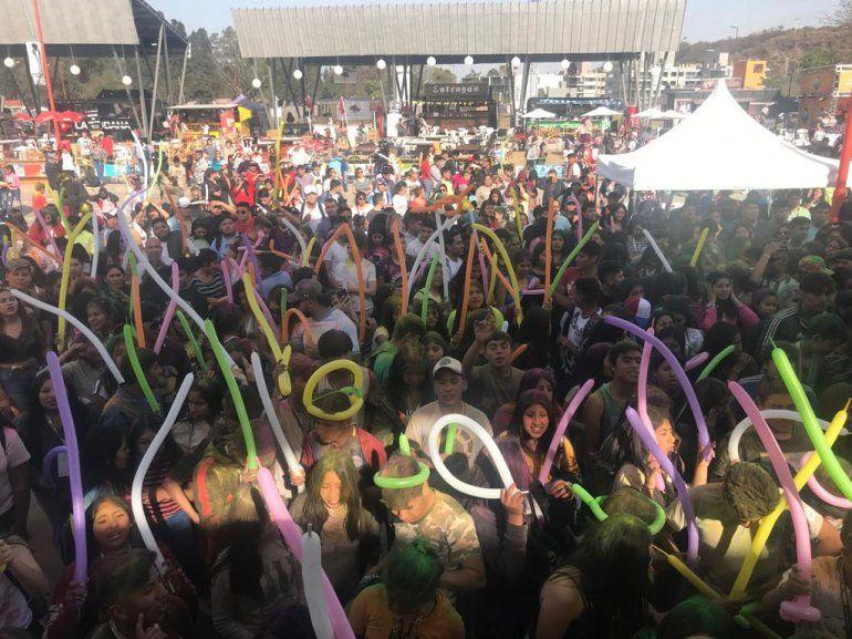 Empezó una nueva edición del primavera Fan Fest en la Ciudad Cultural