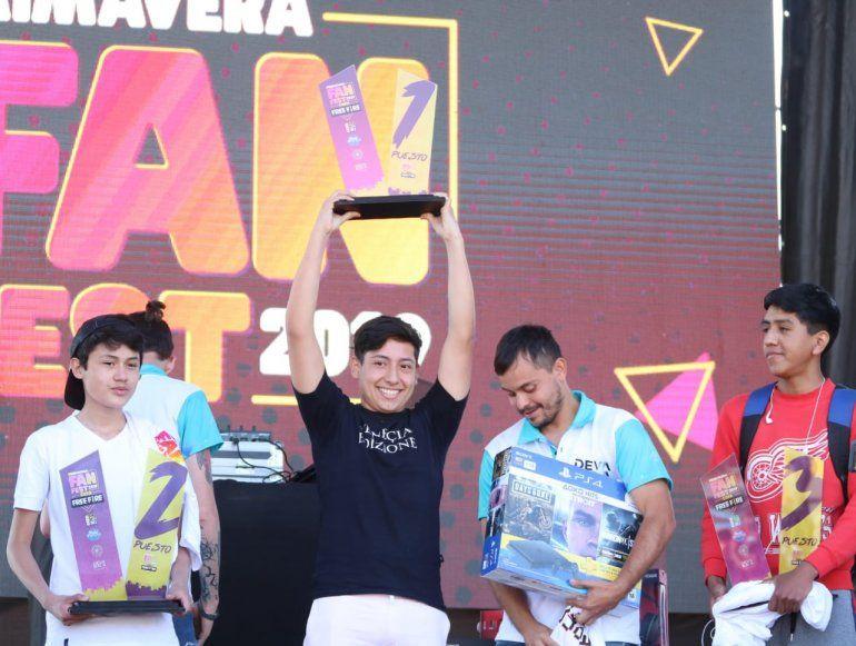 Mateo Titán Luccioni se consagró campeón en la Copa Free Fire