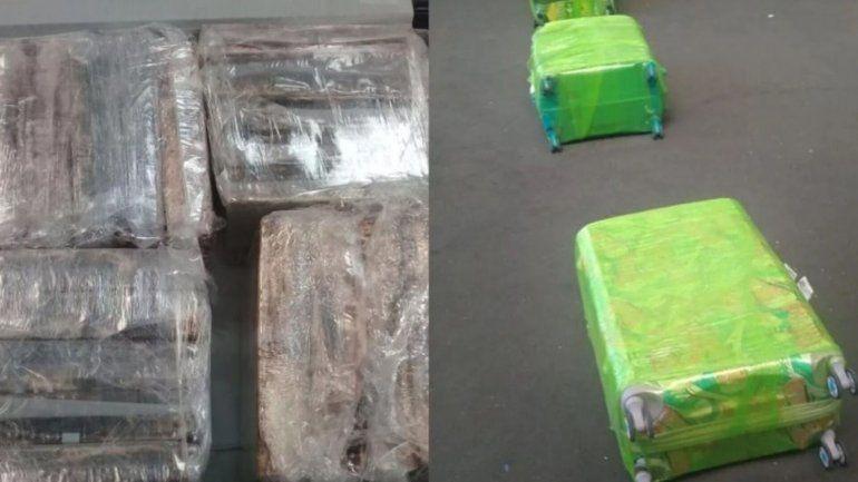 Operativo en Ezeiza: más de 250 kilos de cocaína y 13 detenidos